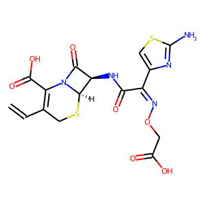 Cefixime structure rendering