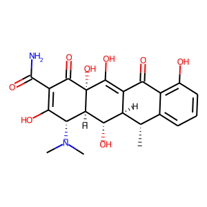 Doxycycline structure rendering