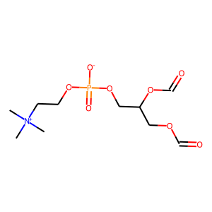 Lecithin structure rendering