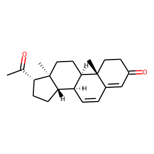 Dydrogesterone structure rendering