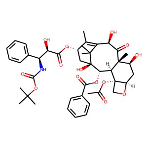 Docetaxel structure rendering