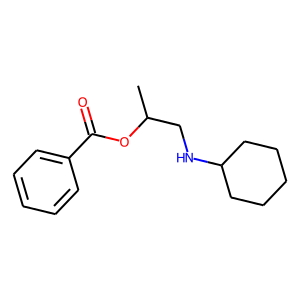 Hexylcaine structure rendering