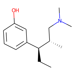 Tapentadol structure rendering