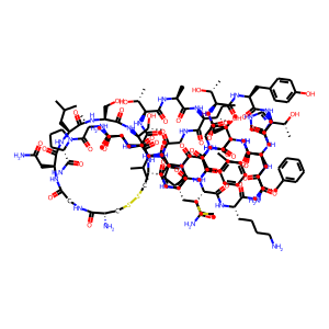 Calcitonin human structure rendering