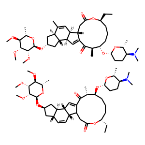 Spinosad structure rendering
