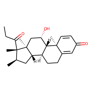 Rimexolone structure rendering
