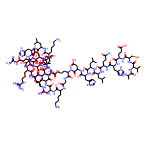 Abaloparatide structure rendering