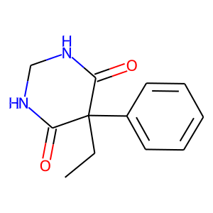 Primidone structure rendering