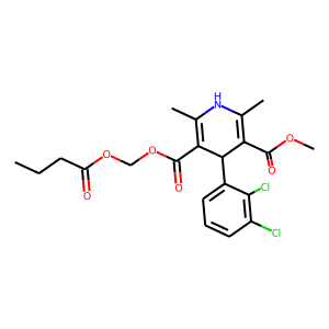 Clevidipine structure rendering