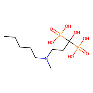 Ibandronate structure rendering