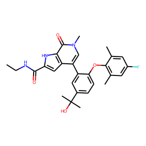 Abbv-744 structure rendering