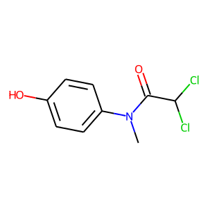 Diloxanide structure rendering
