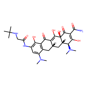 Tigecycline structure rendering