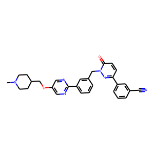 Tepotinib structure rendering