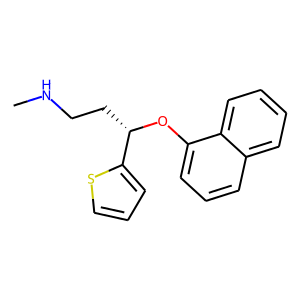 Duloxetine structure rendering