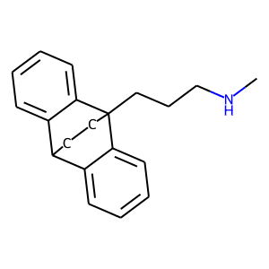 Maprotiline structure rendering