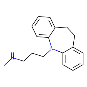 Desipramine structure rendering