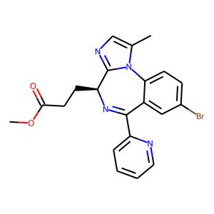 Remimazolam structure rendering