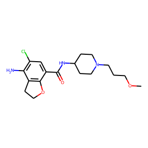 Prucalopride structure rendering