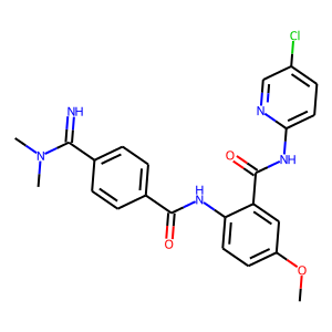 Betrixaban structure rendering