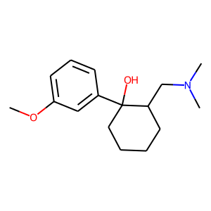 Tramadol structure rendering