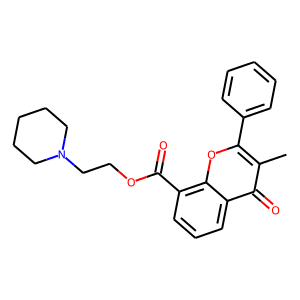 Flavoxate structure rendering