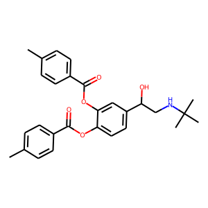 Bitolterol structure rendering
