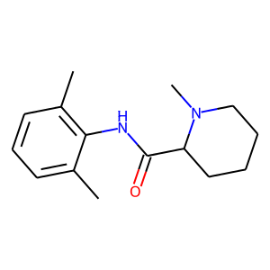 Mepivacaine structure rendering