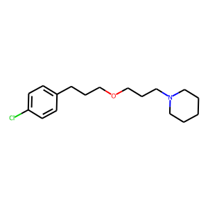 Pitolisant structure rendering