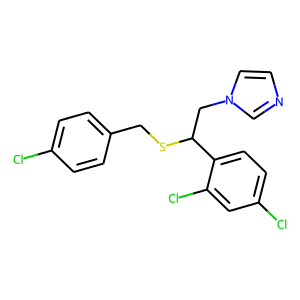 Sulconazole structure rendering