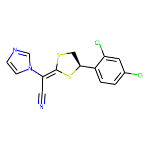 Luliconazole structure rendering