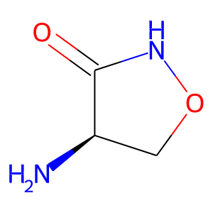 Cycloserine structure rendering