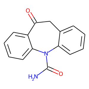 Oxcarbazepine structure rendering
