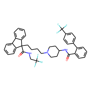Lomitapide structure rendering