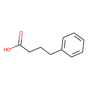 Phenylbutyrate structure rendering