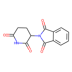 Thalidomide structure rendering