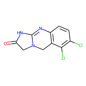 Anagrelide structure rendering