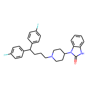Pimozide structure rendering