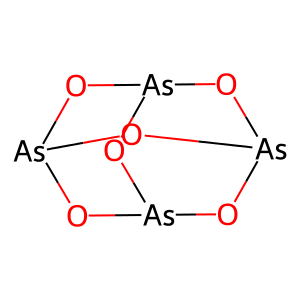Arsenic trioxide structure rendering