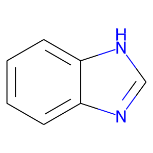 Benzimidazole structure rendering